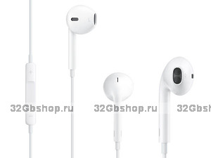 Наушники Apple EarPods для iPhone 5 / 5s MD827ZM/A