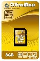 Карта памяти SD 8Gb OltraMax Class 10