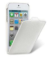 Кожаный чехол Melkco для iPhone 5s / SE / 5 - Jacka Type белый
