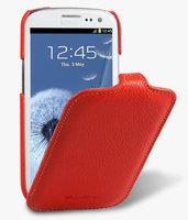 Кожаный чехол книжка Melkco Jacka Type для Samsung Galaxy S4 GT-I9500 - Red LC