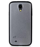 Чехол накладка Melkco для Samsung Galaxy S4 - Melkco Combined Case - черный / белый прозрачный