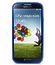 Чехол накладка Melkco для Samsung Galaxy S4 - Melkco Combined Case - синий / белый прозрачный