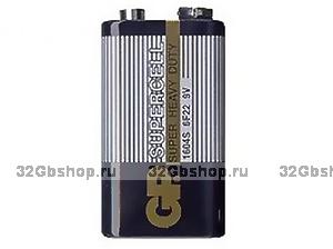 Батарейки GP 6F22 в пакете Крона