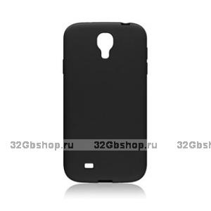 Пластиковый чехол для Samsung Galaxy S4 - Matte Plastic Case Black - черный