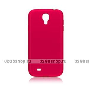 Пластиковый чехол для Samsung Galaxy S4 - Matte Plastic Case Pink - розовый