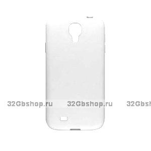 Пластиковый чехол для Samsung Galaxy S4 - Matte Plastic Case White - белый