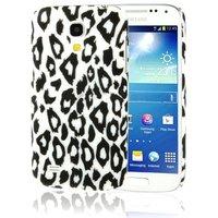 Пластиковый чехол для Samsung Galaxy S4 леопард
