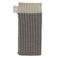Серый вязаный чехол носок для iPhone 5 / 5s / SE - Knit Stitch Pouch Bag Grey