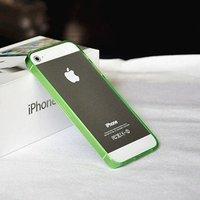 Силиконовый бампер Ultra Thin 0.2mm для iPhone 5 / 5s / SE зеленый