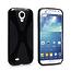 Силиконовый чехол для Samsung Galaxy S4 - X Style Case Black черный