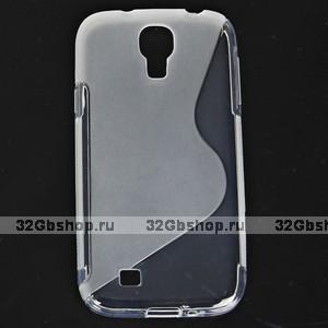 Силиконовый чехол S-Style для Samsung Galaxy S4 - S Style Soft Silicone Case Transparent - прозрачный