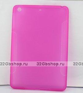 Силиконовый чехол для iPad mini розовый