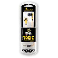 Наушники-вкладыши стерео SmartTrack STE-2600 TOXIC Yellow (желтые)