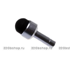 Стилус для IPhone 5 заглушка джек 3.5 черный