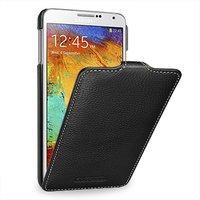 Черный кожаный чехол для Samsung Galaxy Note 4 - Melkco Leather Case Jacka Type Black LC