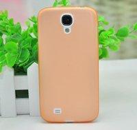 Ультратонкий чехол для Samsung Galaxy S4 - Ultra Thin 0.5mm Samsung S4 Case Orange оранжевый