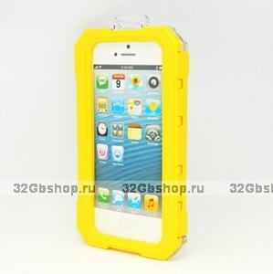 Водозащитный чехол для iPhone 5 / 5s / SE - iPega Water Proof Case for iPhone 5 / 5s / SE Yellow