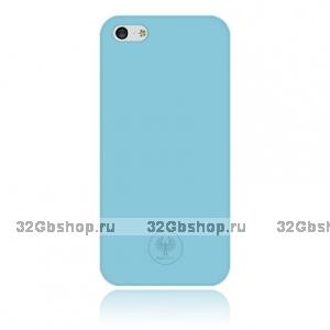 Задняя накладка Red Angel для iPhone 5 / 5s / SE голубая Ultra Thin
