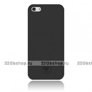 Задняя накладка Red Angel для iPhone 5 / 5s / SE чёрная Ultra Thin