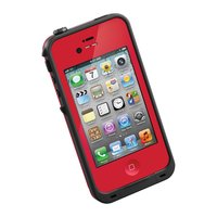 Защитный чехол для iPhone 5s / SE / 5 - LifeProof frē iPhone 5 Case Red