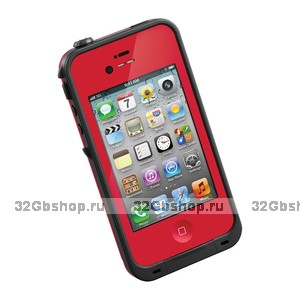 Защитный чехол для iPhone 5s / SE / 5 - LifeProof frē iPhone 5 Case Red