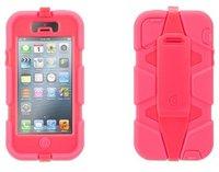 Защитный чехол Griffin Survivor Flour Pink для iPhone 5 / 5s / SE - розовый